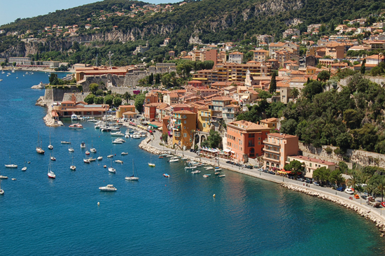 The Region of Provence Alpes Cote d'Azur