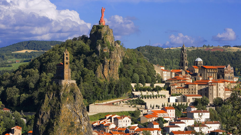 St. Michel d'Aiquilhe and Virgin and Child Above Le Puy