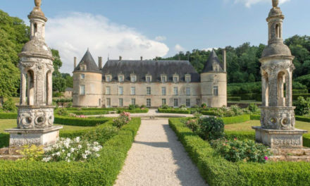 22. Chateau de Bussy Rabutin in Bussy-le-Grand